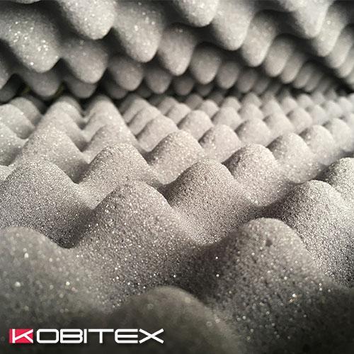 Kobitex - Сивочерен гофриран дунапрен Клас Б